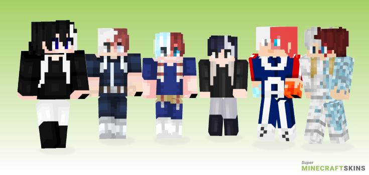 Todoroki Minecraft Skins  Download for free at SuperMinecraftSkins