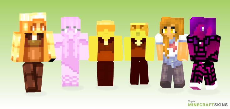 Topaz Minecraft Skins - Best Free Minecraft skins for Girls and Boys