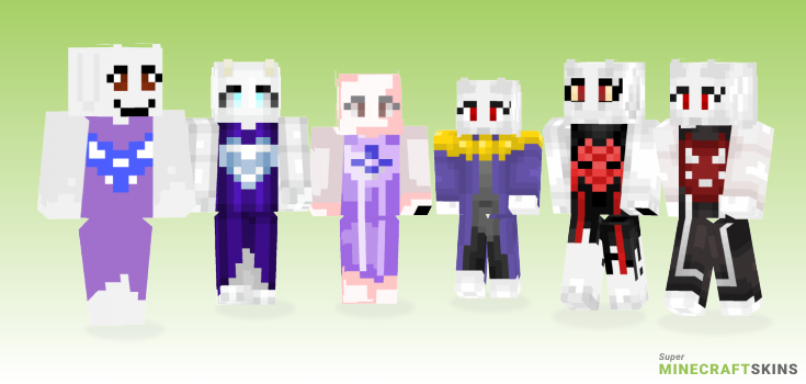 Toriel Minecraft Skins - Best Free Minecraft skins for Girls and Boys