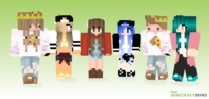 Touch Minecraft Skins - Best Free Minecraft skins for Girls and Boys