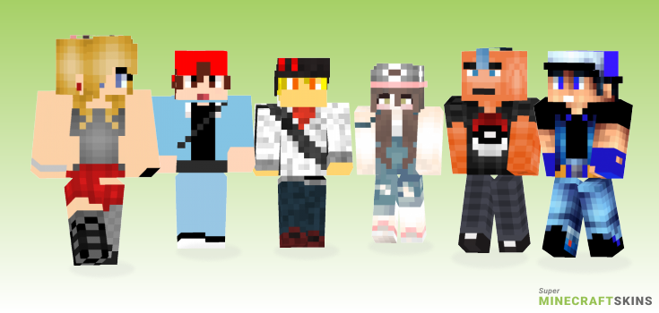 Trainer Minecraft Skins - Best Free Minecraft skins for Girls and Boys