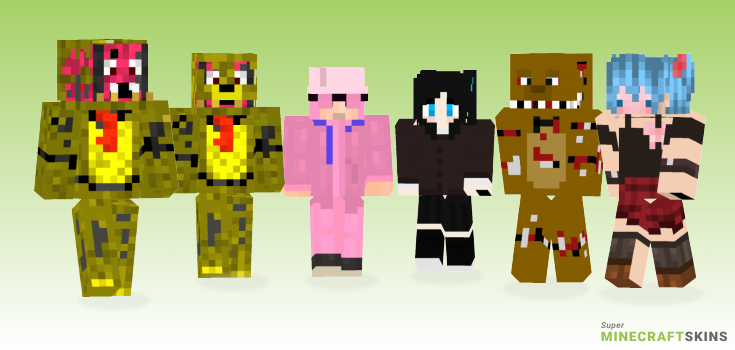 Trap Minecraft Skins - Best Free Minecraft skins for Girls and Boys