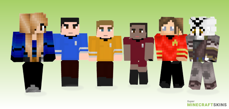 Trek Minecraft Skins - Best Free Minecraft skins for Girls and Boys