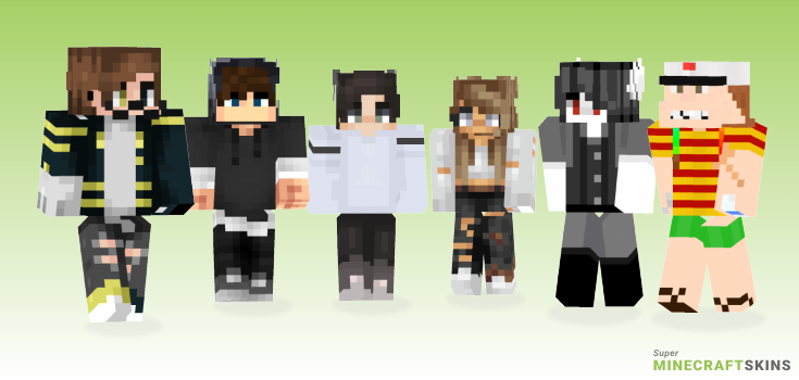Trend Minecraft Skins - Best Free Minecraft skins for Girls and Boys