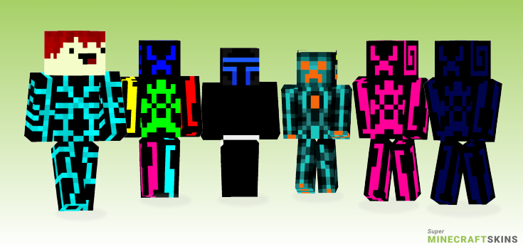 Tron Minecraft Skins - Best Free Minecraft skins for Girls and Boys