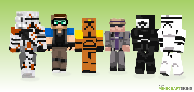 Trooper Minecraft Skins - Best Free Minecraft skins for Girls and Boys