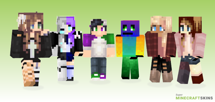 Try Minecraft Skins - Best Free Minecraft skins for Girls and Boys