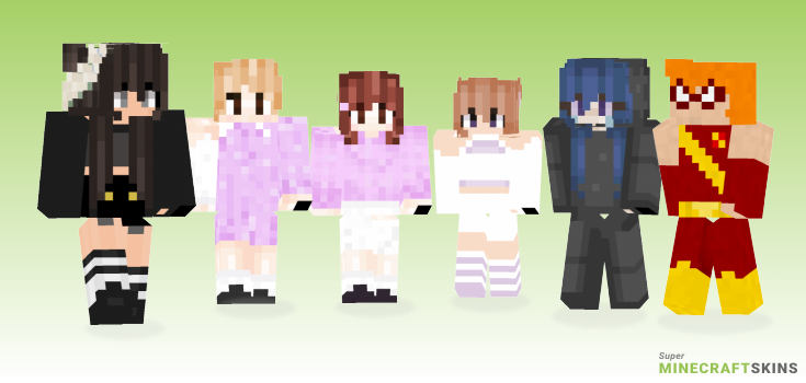 Tt Minecraft Skins - Best Free Minecraft skins for Girls and Boys