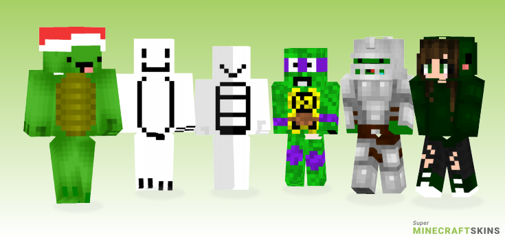 Turtle Minecraft Skins - Best Free Minecraft skins for Girls and Boys
