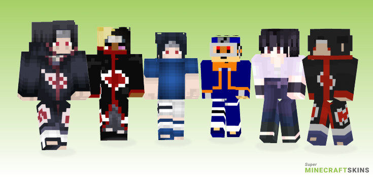 Uchiha Minecraft Skins - Best Free Minecraft skins for Girls and Boys