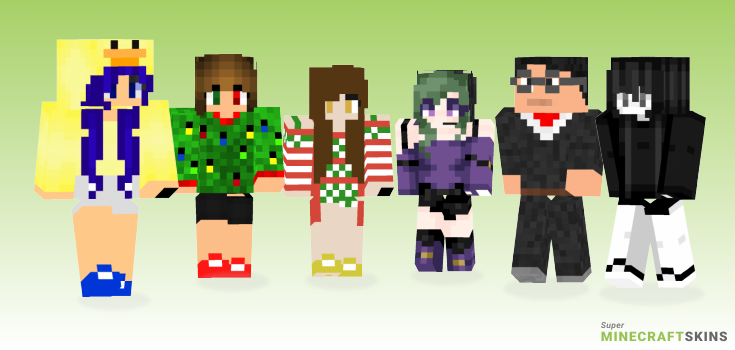 Ugly Minecraft Skins - Best Free Minecraft skins for Girls and Boys