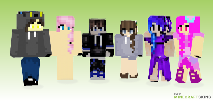 Ultrabobt Minecraft Skins - Best Free Minecraft skins for Girls and Boys