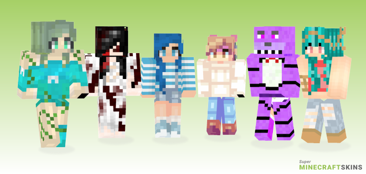 Under Minecraft Skins - Best Free Minecraft skins for Girls and Boys