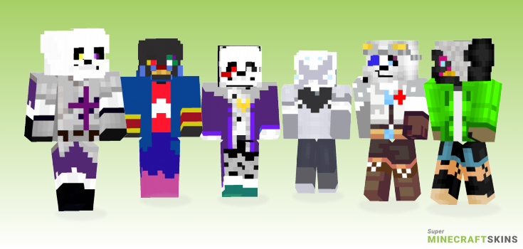 Underscratch Minecraft Skins - Best Free Minecraft skins for Girls and Boys