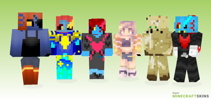 Undying Minecraft Skins - Best Free Minecraft skins for Girls and Boys