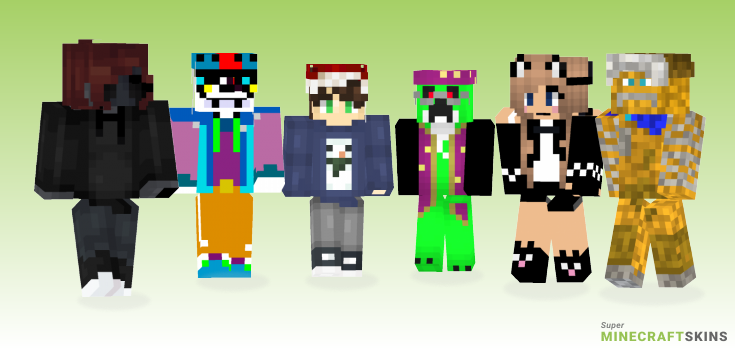 Ur Minecraft Skins - Best Free Minecraft skins for Girls and Boys