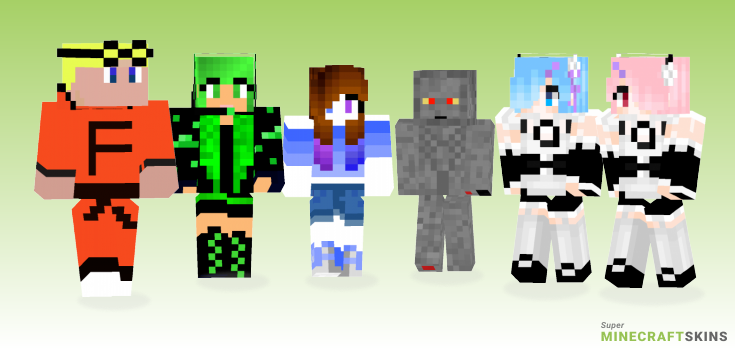 V20 Minecraft Skins - Best Free Minecraft skins for Girls and Boys