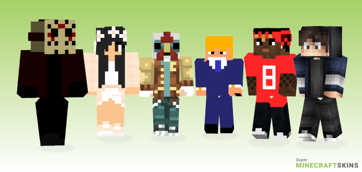 V4 Minecraft Skins - Best Free Minecraft skins for Girls and Boys