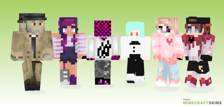 Valentine Minecraft Skins - Best Free Minecraft skins for Girls and Boys