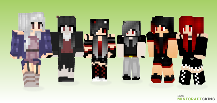 Vampire Girl Minecraft Skins Download For Free At