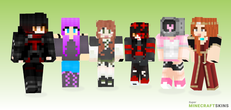 Victoria Minecraft Skins - Best Free Minecraft skins for Girls and Boys