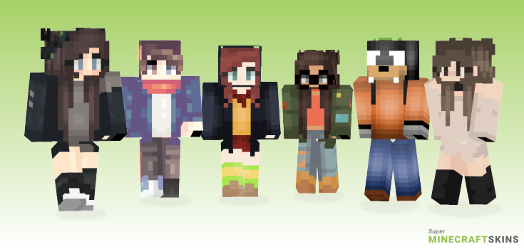 Wake Minecraft Skins - Best Free Minecraft skins for Girls and Boys
