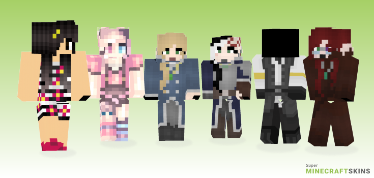 Ward Minecraft Skins - Best Free Minecraft skins for Girls and Boys