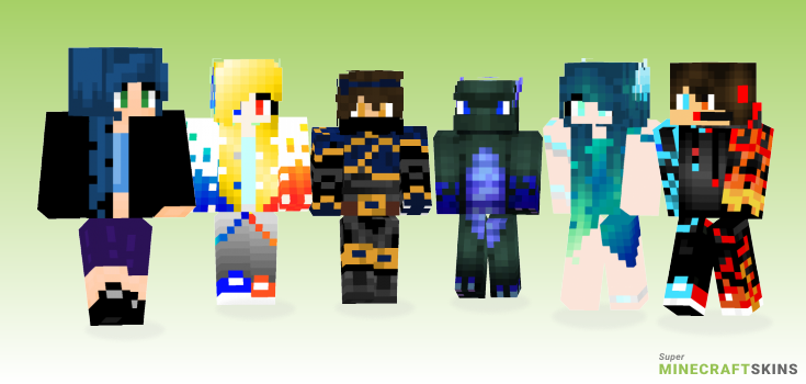 Water Minecraft Skins - Best Free Minecraft skins for Girls and Boys