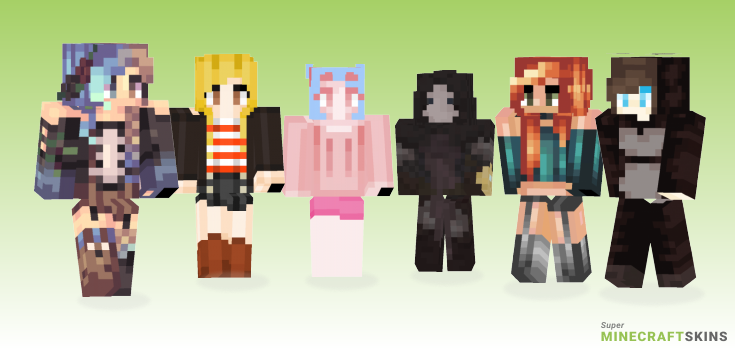 We Minecraft Skins - Best Free Minecraft skins for Girls and Boys