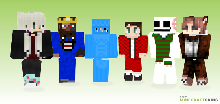 Wearing Minecraft Skins - Best Free Minecraft skins for Girls and Boys