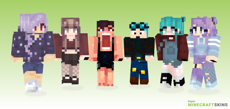 Wee Minecraft Skins - Best Free Minecraft skins for Girls and Boys