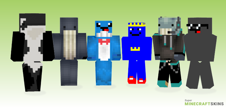 Whale Minecraft Skins - Best Free Minecraft skins for Girls and Boys