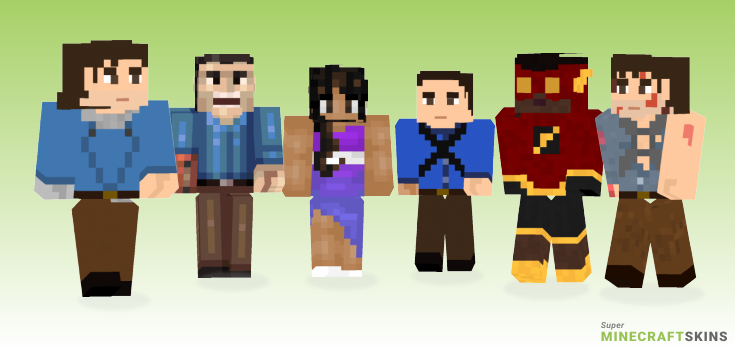 Williams Minecraft Skins - Best Free Minecraft skins for Girls and Boys
