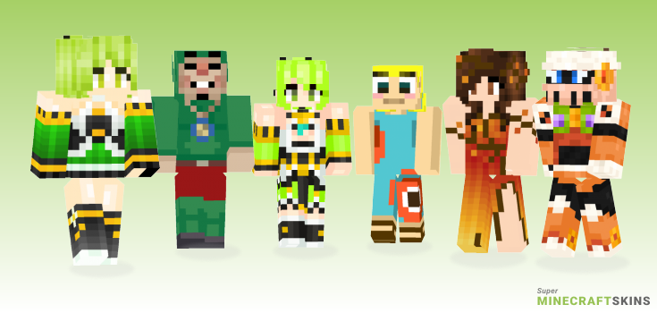 Wind Minecraft Skins - Best Free Minecraft skins for Girls and Boys