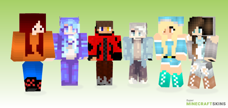 Winter Minecraft Skins - Best Free Minecraft skins for Girls and Boys