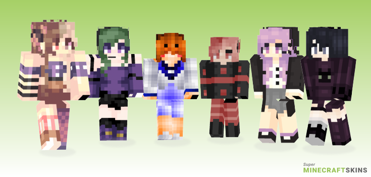Witches Minecraft Skins - Best Free Minecraft skins for Girls and Boys