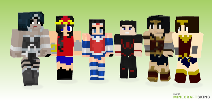 Wonder Minecraft Skins - Best Free Minecraft skins for Girls and Boys