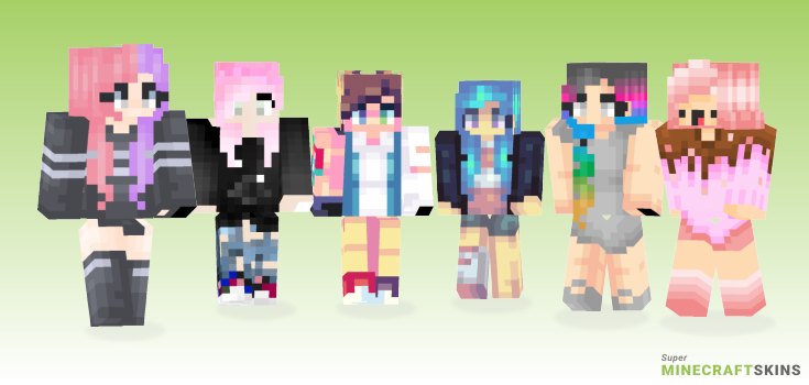 Wowie Minecraft Skins - Best Free Minecraft skins for Girls and Boys