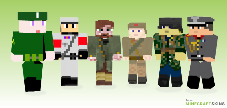 Ww2 Minecraft Skins - Best Free Minecraft skins for Girls and Boys