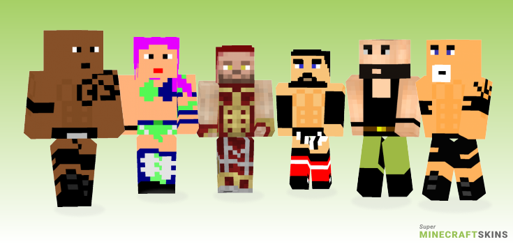Wwe Minecraft Skins - Best Free Minecraft skins for Girls and Boys