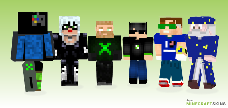 Xbox Minecraft Skins - Best Free Minecraft skins for Girls and Boys