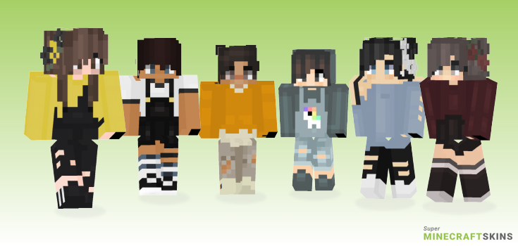 Xukulele Minecraft Skins - Best Free Minecraft skins for Girls and Boys