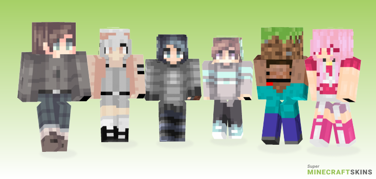 Yesterday Minecraft Skins - Best Free Minecraft skins for Girls and Boys