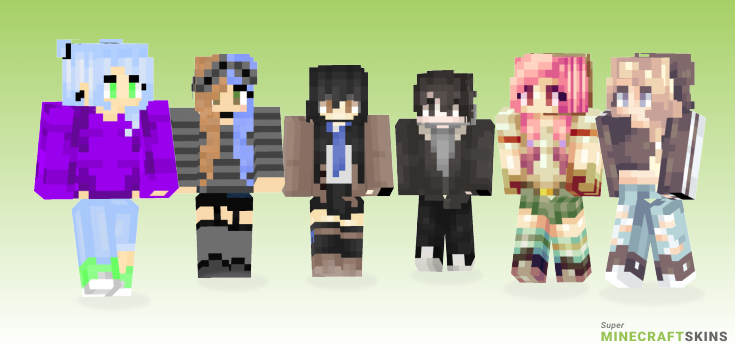 Yet Minecraft Skins - Best Free Minecraft skins for Girls and Boys