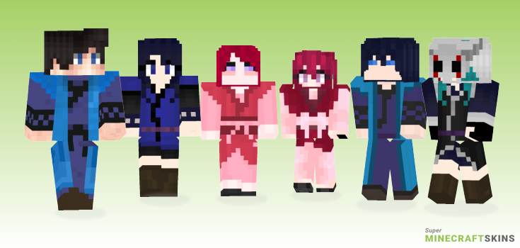 Yona Minecraft Skins - Best Free Minecraft skins for Girls and Boys