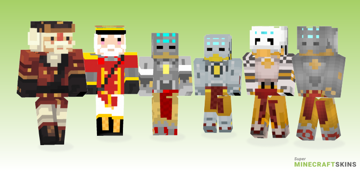 Zenyatta Minecraft Skins - Best Free Minecraft skins for Girls and Boys