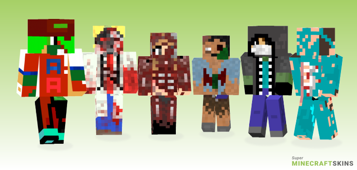 Zombie Minecraft Skins - Best Free Minecraft skins for Girls and Boys