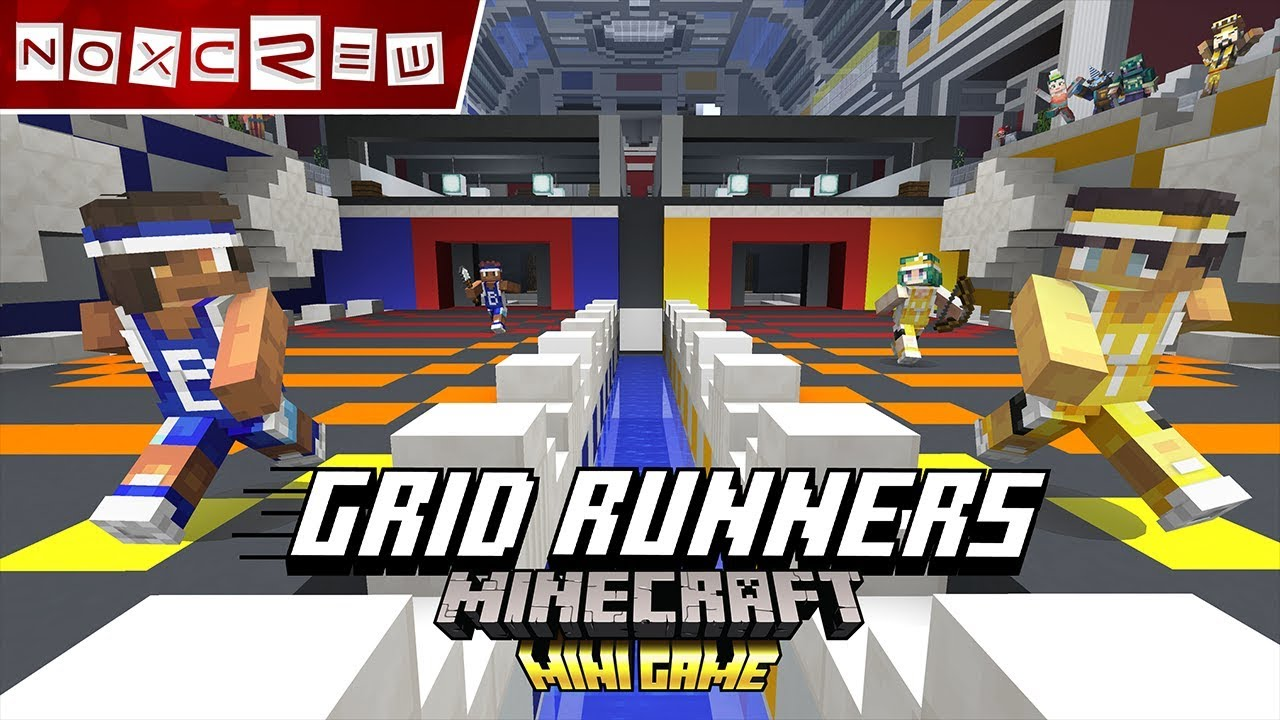 Grid Runners by Noxcrew gameplay