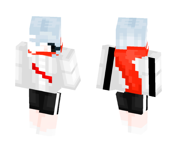Aftertale - Sans Girl - Female Minecraft Skins - image 1