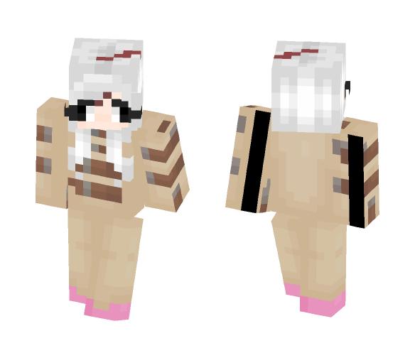Asylumtale - Sans Girl - Female Minecraft Skins - image 1